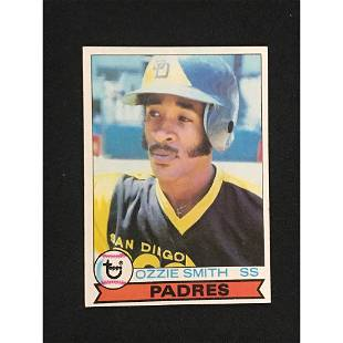 1979 Topps Ozzie Smith Rookie Exmt+