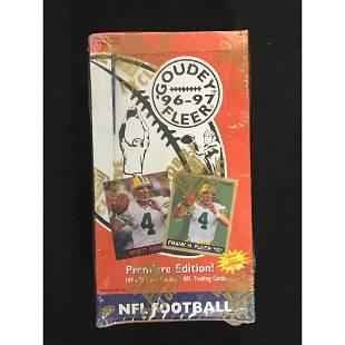 1996-97 Fleer Goudey Football Sealed Wax Box