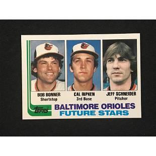 1982 Topps Cal Ripken Jr. Rookie Mint