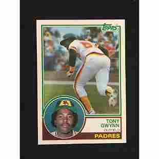 1983 Topps Tony Gwynn Rookie Near Mint