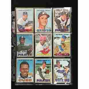 9 1967 Topps Baseball High Number Cards