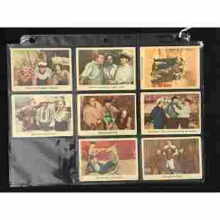 8 1959 Fleer Three Stooges Cards