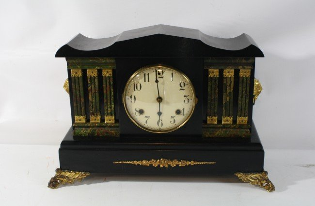 6A: Waterbury Mantle clock