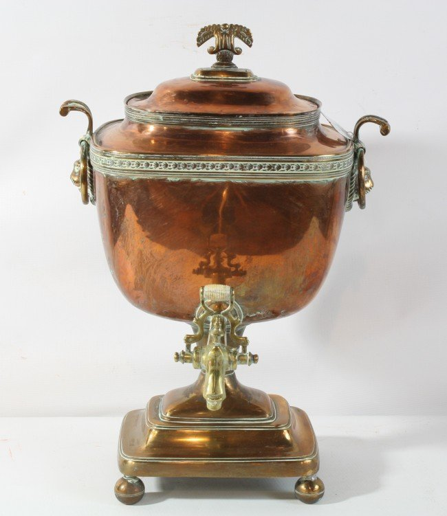 12A: Copper Samovar