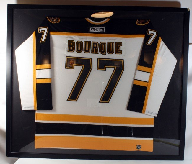 10: Ray Bourque Signed and Authenticated Bruins Jersey
