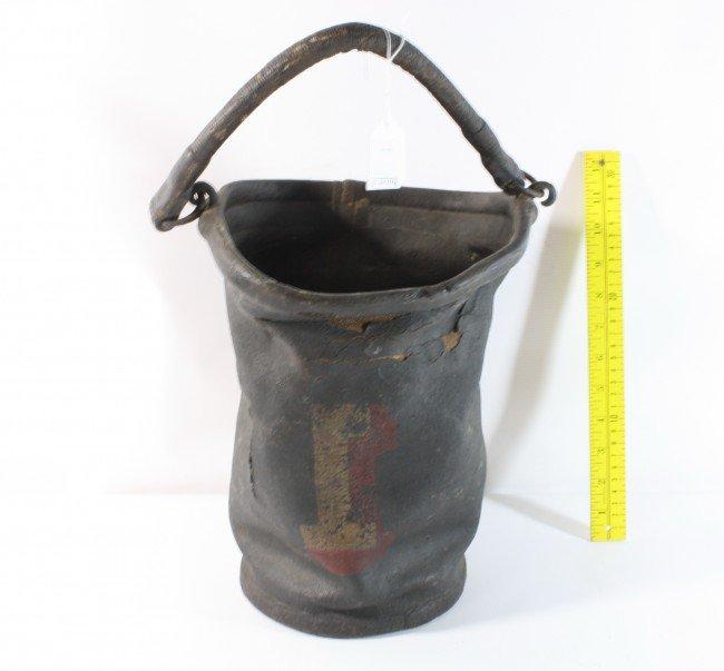 12: Leather fire bucket