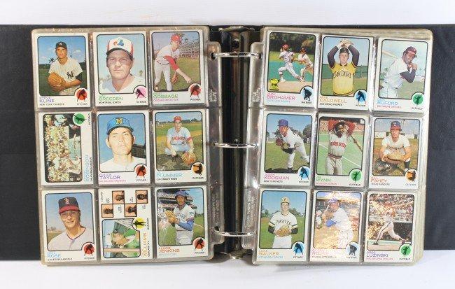 9: 1973 Topps Baseball complete set
