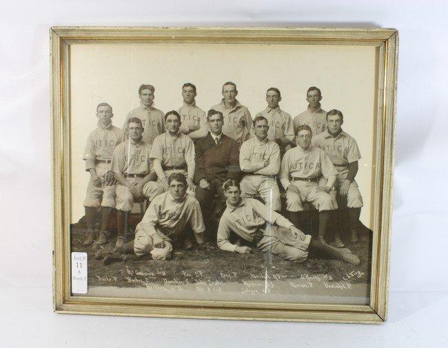 11A: Utica baseball photo 1904