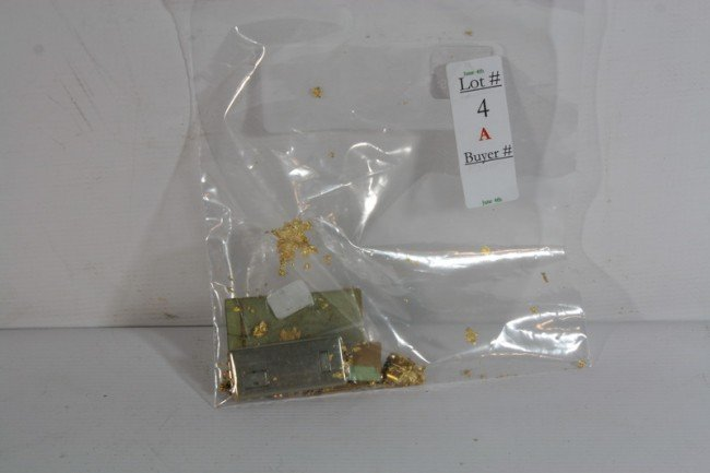 4A: Gold Jewelry lot with 14Kt. and 10kt. 18 DWT