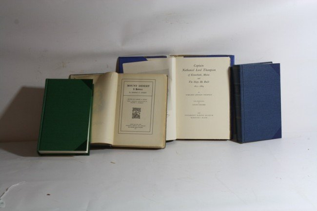 8A: 4 Books, History of District of Maine, Survey of Ma
