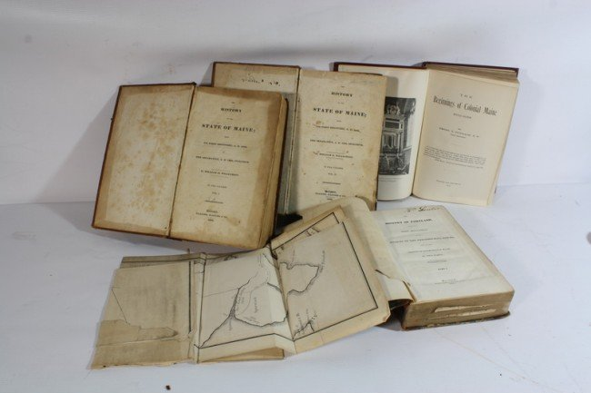 9A: 2 Books, Gorges and The Grant 1622, George Cleeve o