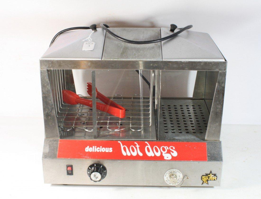 3: Hot Dog steamer