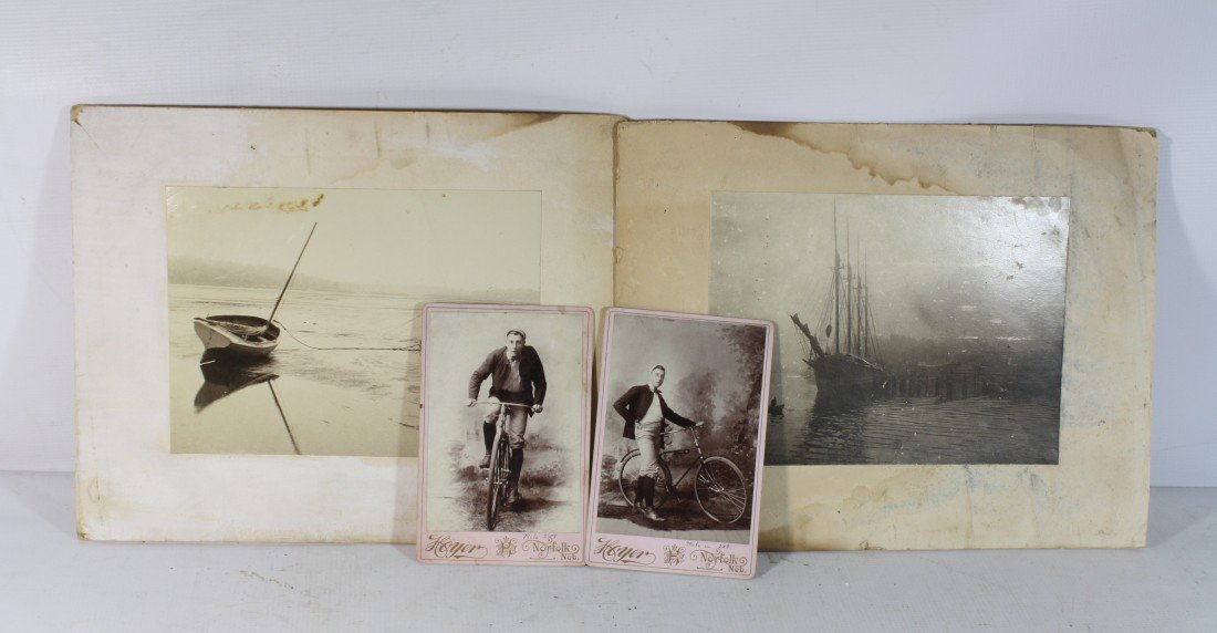 7: Old Boating and bicycle photos