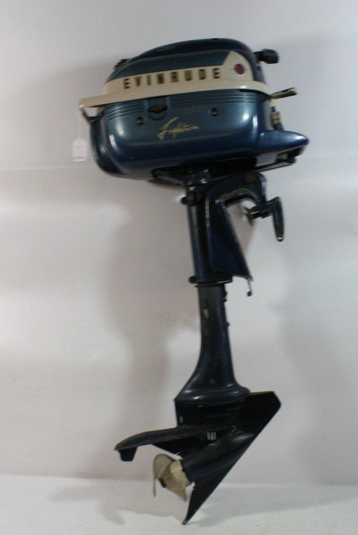 10: Evinrude Lighting three outboard motor