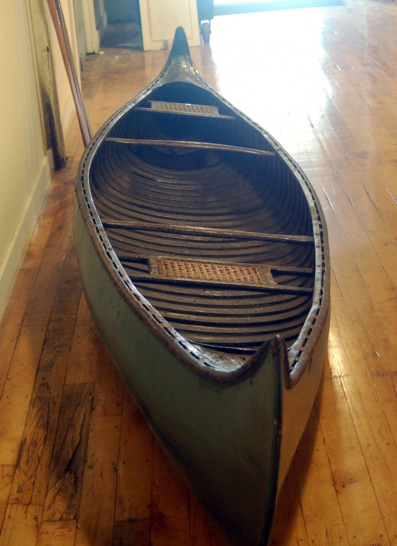 11: 1912 Old Town Canoe