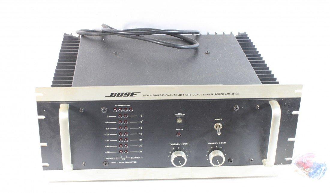 14: Bose 250 watt Amp model 1800 in original box