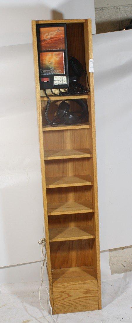 21: Audio CD Listening cabinet