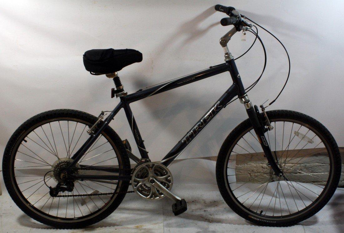 2: Gun metal Trek Navigator 21 speed mountain bike