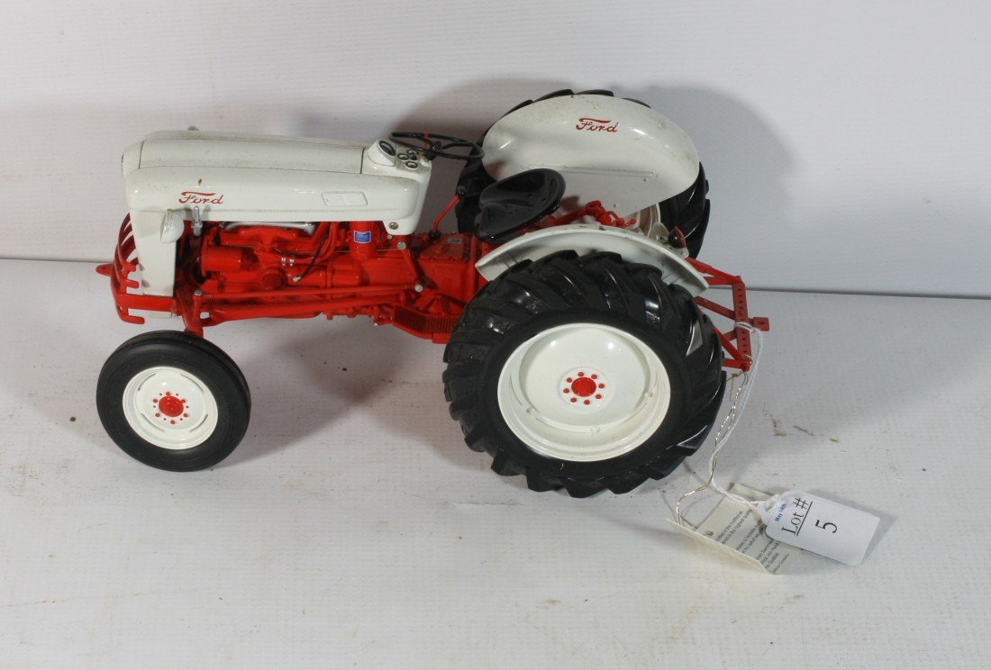 5: Franklin Mint Ford Tractor Die cast