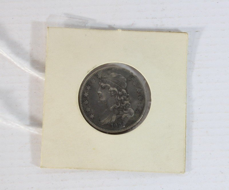 3: 1834 Small Sized Draped Bust quarter