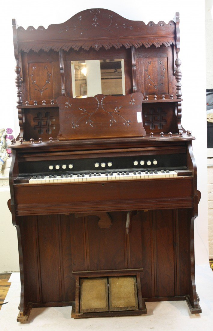 8A: Sears Harmonium Organ