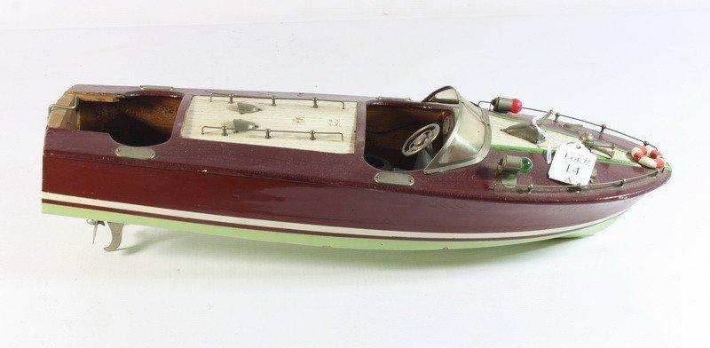 14A: Criscraft boat model