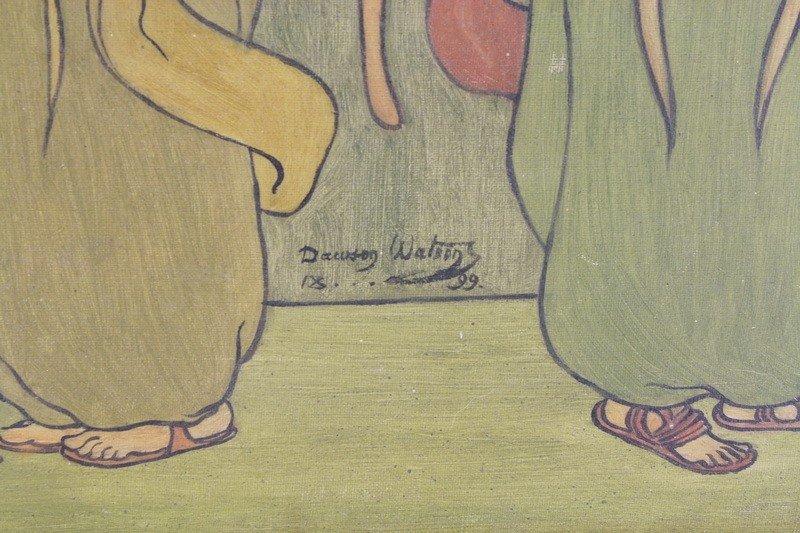 10: OOC by Dawson Watson 1899 29 1/2 x19 1/2 in Oak Fra