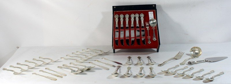 1: 48.4 Troy Ounces of Westmoreland sterling flatware
