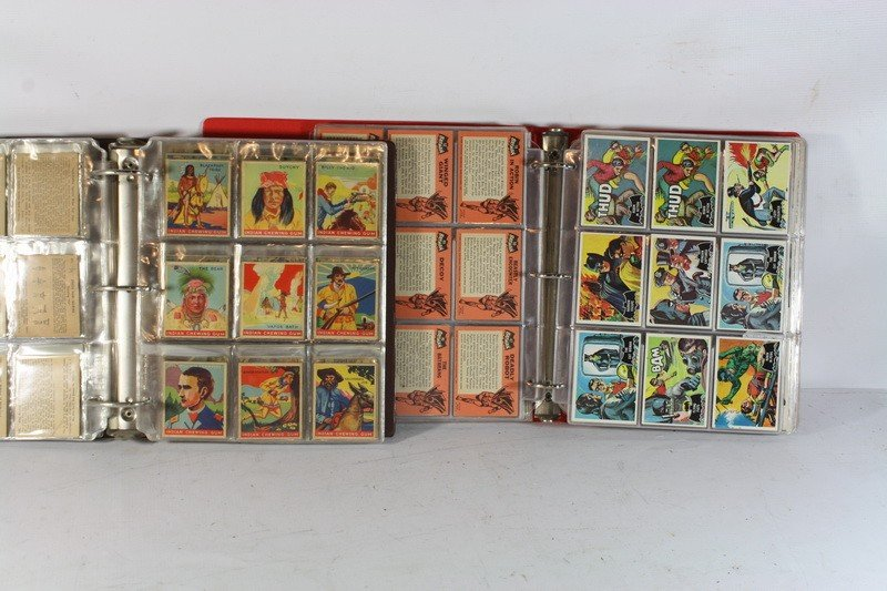 119: 2 albums of non-sports cards