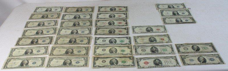 2: $71 Face Value US Paper Money