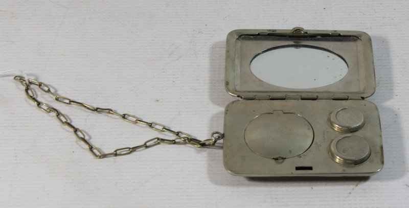 8: German Silver compact