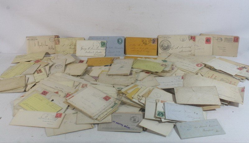 119: Box of Aroostook County Letters and Ephemera with