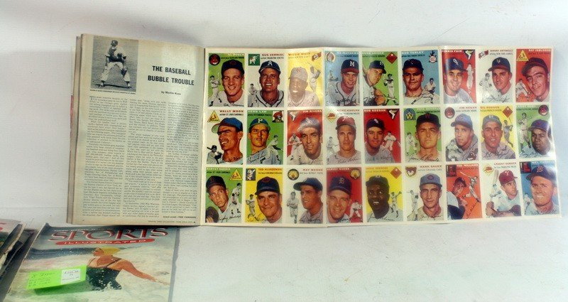5: 8 Sports Illustrated from 1954 including First Issue