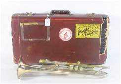 128 FE Olds  Sons Special Trumpet in case