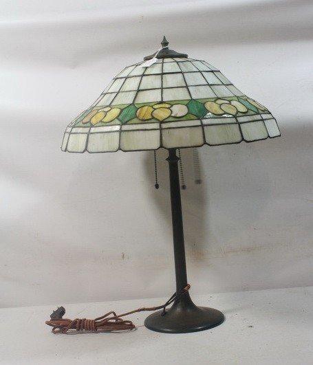12: Handel Lamp with shade