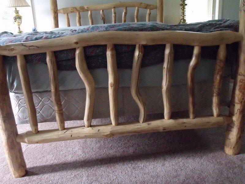 14: Log Bedroom set