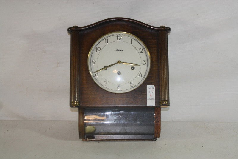 16A: Heco Westminster chime clock