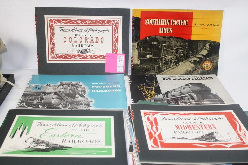 12: 12 volumes train albums and photographs of Eastern