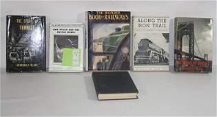 73 Six RR Books to include The Wonder Book Of Railwa