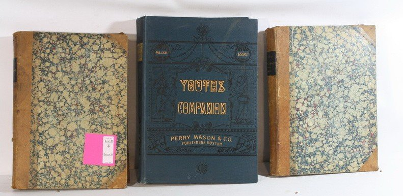 4: Bound volume Youth's Companion 1876-1877, 1878- 1879