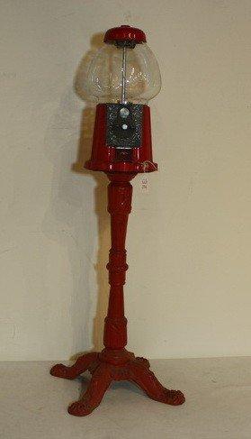 216: Cast Iron gumball Machine