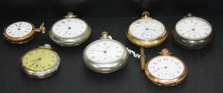 52A: 7 Pocket watches