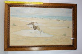 5: OOC depicting shire birds 41x25 signed CR Parke