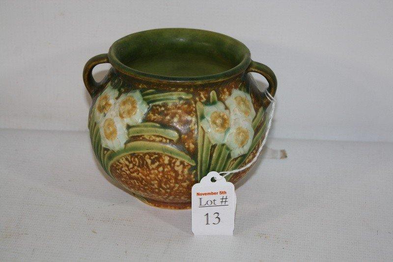 """13: Roseville 4"""" vase"""