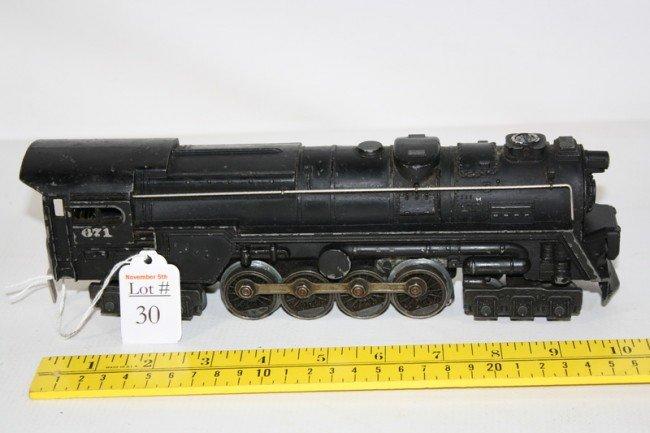 30: Lionel Engine #671