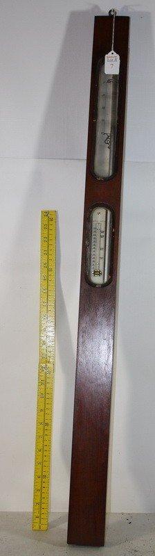 7: Oak Barometer