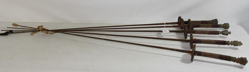 22A: 5 Fencing swords