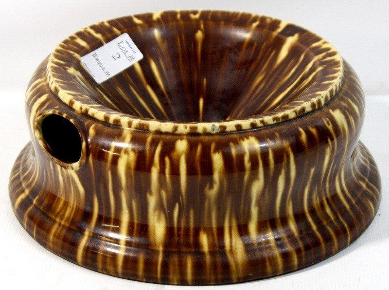 2: Bennington Pottery Spittoon