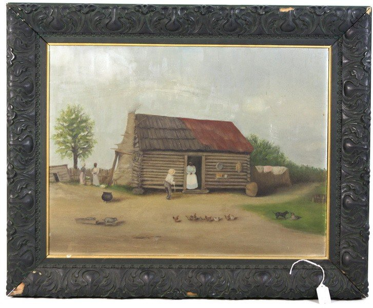 12A: OOB Primitive with original frame 24x18 southern s