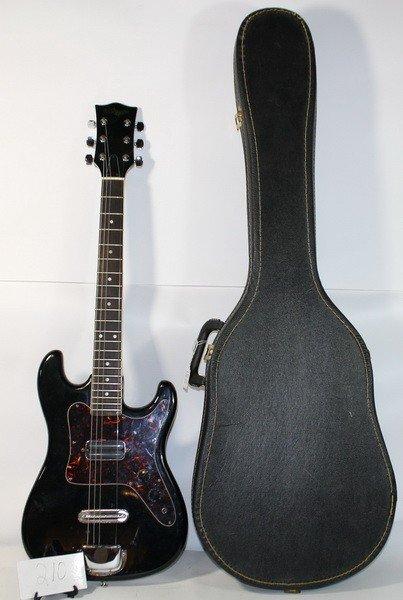 210: Memphis Electric Guitar in case